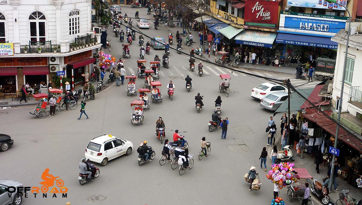 Anh Wu's third and permanent residence - Hanoi, the capital of Vietnam. Picture taken in late 2000s.