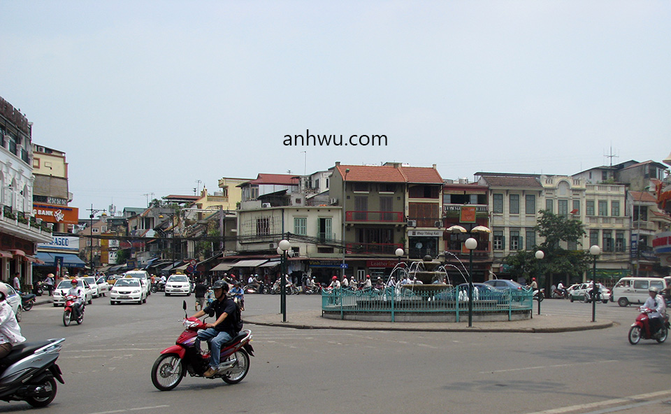Anh Wu's third and permanent homeland - Hanoi, the capital of Vietnam