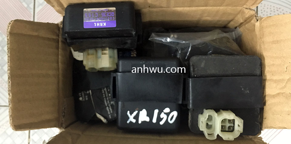 Vietnam off-road and touring motorbike parts for sale in Hanoi, Northern Vietnam. Honda XR125/1500L Ignition Control Modules.