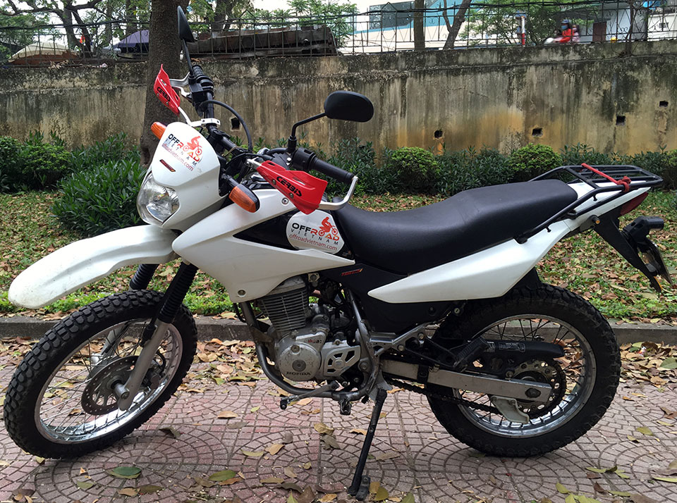 Vietnam Used Motorbikes For Sale In Hanoi. Used Honda XR125/150 150cc is a good choice. Reliable, powerful and fuel saving.